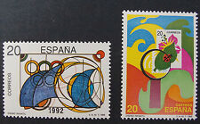 Spanish Stamps - 1989 Children's Stamp Designs In MNH Condition