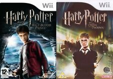 harry potter and the half blood prince & the order of the phoenix   wii  pal