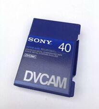 Sony DVCAM PDV-40N Video Cassette Tape