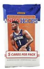 NBA Hoops Basketball 2019-2020 Sealed Pack 5 Cards Neon Green Aussie Exclusives