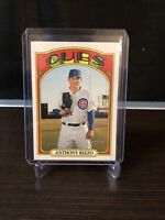 2021 Topps Heritage - Error!  Rare! - #175 Anthony Rizzo - Chicago Cubs