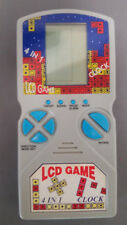TETRIS LCD GAME (Handheld) the funniest game! 4 in 1, Clock! Very Good Condition
