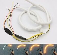 2x Switchback LED Strip Lights W/ Sequential Signal For Headlight Retrofit Mods