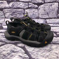 Keen Men's Black Waterproof Hiking Sport Sandals Size 9