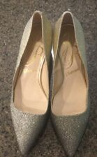 J. RENEE PUMPS. GOLD SPARKLES. SIZE 7 M. Beautiful. NWOB!