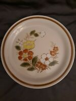 Vintage Mountain Wood Collection Stoneware Trellis Blossom Dinner Plate 10-3/4""