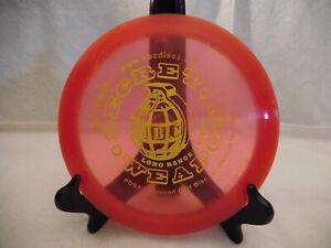 Rare First Run ABC Discs SECRET WEAPON Disc Golf Disc,154g, Used