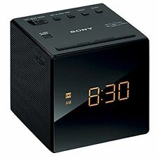 OFFICIAL SONY AM/FM RADIO CLOCK ICF-C1 BC / ICF-C1-B / AIRMAIL with TRACKING