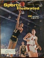 SI: Sports Illustrated January 24, 1966 Iowa Challenges In The Big Ten G