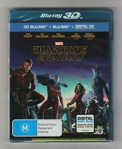 Guardians Of The Galaxy 3D Blu-ray + Blu-ray (2-Disc Set) - Brand New & Sealed