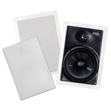 "BIC M-PRO6W 6-1/2"" 2-Way Weatherproof In-Wall Speaker Pair"