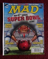 MAD Magazine #450 February 2005 ~ Super Bowl Football + The Incredibles