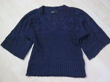 Vero Moda Damen Pullover 3/4 Arm Gr.L 40 Lila Violett Grobstrick