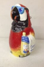Corona Butler Parrot Limited Edition Collectible Beer Stein #6720