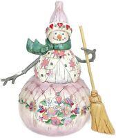 2003 Heartwood Creek Jim Shore Winter's Warmth Snowman Figurine 112249 Enesco