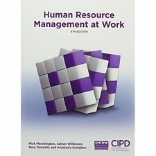 Human Resource Management at Work by Anastasia Kynighou, Rory Donnelly, Adrian …