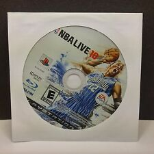 NBA Live 10 (Sony PlayStation 3, 2009) DISC ONLY #8236