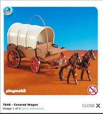 Playmobil 7648 Western Covered Wagon Add On