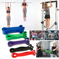 Elastic Workout Resistance Bands Loop CrossFit Fitness Booty Exercise Band lot