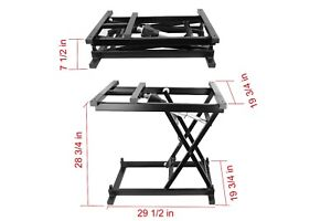 30'' Wireless Electric Hydraulic Remote Control Dining Table Coffee Table lift
