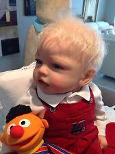 "Kylie By Famous Romie Strydom 23""7lbs Janie&Jack Garments Reborn Cute Toddler"