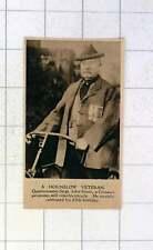 1920 Quartermaster Sgt John Gunn Crimean Pensioner Riding Bike At 85