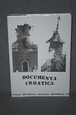 DOCUMENTA CROATICA by Zvonimir Separovic, 1992, SIGNED, 2nd Print, HC w/DJ