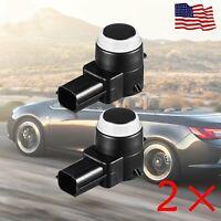 GM Chevy GMC Cadillac Buick Impact Parking Assist Sensor OEM Iridium 23428268