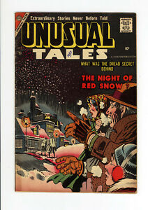 UNUSUAL TALES #9  FN - STEVE DITKO COVER & ART  - SCARCE ISSUE - 1957