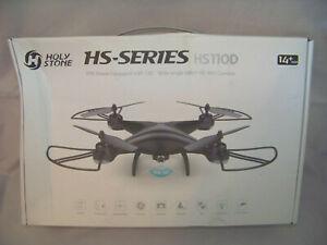 Holy Stone 110D Headless Mode 3D Flips 120° 1080P Live Video RC 3D Flips Gravity
