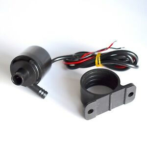 Small IP68 Submersible Brushless Water pump for PC cooling liquid 12V DC