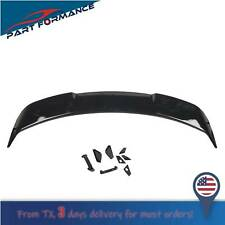 Glossy Black Gt Style Trunk Spolier Wing For Ford 2015 2020 Mustang S550 Fits Mustang