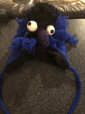Cookie Monster Wooly Hat - Blue