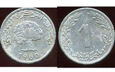 TUNISIE TUNISIA 1 millim 1960   ( ca )