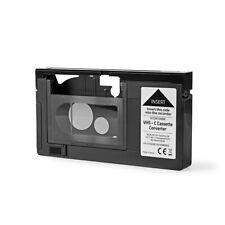 ADATTATORE VHS PER CASSETTE VIDEOCAMERA VHS-C AUTOMATICO