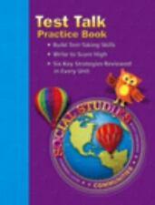 Social Studies: Test Talk Practice Book, Grade 3-ExLibrary