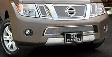 4PC MESH GRILLE GRILL E&G FITS 2008 2009 2010 2011 2012 NISSAN PATHFINDER