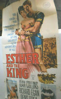Filmplakat,Plakat,ESTER AND THE KING,JOAN COLLINS,RICHARD EGAN #149