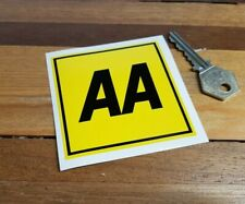 "AA Later Style Car Window Sticker 3"" British Automobile Association Classic Van"