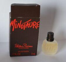 Miniatur Parfum  Minotaure Paloma Picasso pour Homme  ca. 5 ml EDT   OVP