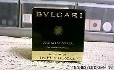 BVLGARI JASMINE NOIR MINI NEW IN BOX .17 OZ