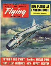 RAF FLYING REVIEW SEP 54 DOWNLOAD: TESTING SWIFT/ FRENCH AF/ Do355/ MODEL PLAN
