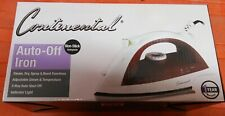 (New in Box) Electric Steam Spray Iron 3-Way Auto-Off Non Stick-Soleplate 1200W