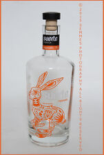 Tequila Rabbit bottle by Suerte Made in Mexico clean Excellent condit Free Ship