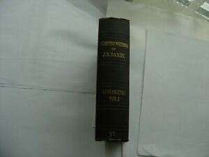 Apologetic Vol 1 of Collected Writings J.N.D. Darby Plymouth Brethren