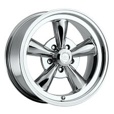 "15"" Vision 141 Legend 5 Chrome Wheel 15x7 5x4.75 6mm Chevy Bel Air Impala 5 Lug"