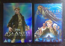 ATLANTIS THE LOST EMPIRE DISNEY DVD & LTD ED O-RING SLEEVE NEW & SEALED FREE P&P