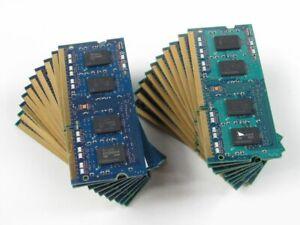 LOT 20 2GB 40GB (20x 2GB) Assorted DDR3-1066 PC3-8500 Laptop SODIMM RAM