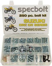 250PC Bolt Kit Suzuki DR-Z DR 70 100 110 125 200 250 350 400 650 DRZ SM Plastics