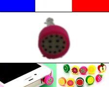 Cache anti-poussière jack universel iphone protection capuchon bouchon FRUIT 4